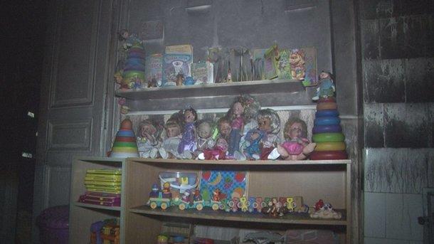 Ночью во Львове горел садик. Фото: ГСЧС