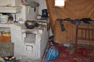 В Житомирской области родители закрыли троих малышей в холодном доме