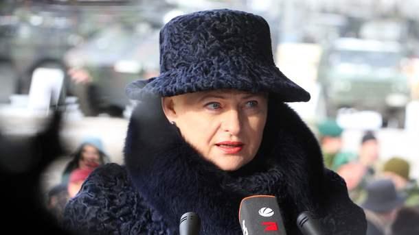 Президент Литвы вкоторый раз выступила против «Северного потока-2»
