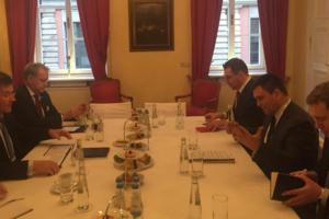 Климкин в Мюнхене встретился с главами МИД Словакии и Италии