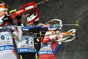 Украинцы стали шестыми в эстафете на чемпионате мира по биатлону