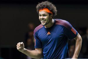 Французский теннисист Тсонга одержал 400-ю победу в карьере