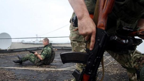 На окупованій території невідомі атакували бойовиків