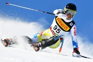 Иван Ковбаснюк занял 47-е место в слаломе на чемпионате мира