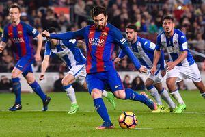 Ujęcie Messi przyniósł zwycięstwo Barcelony w lidze