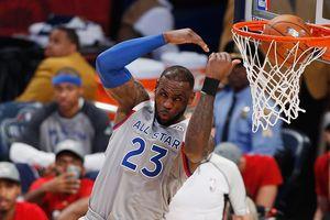 Spiel-NBA endete mit einem historischen Rekord der produktivitt
