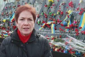 Посол США почтила память Небесной сотни и обратилась к украинцам