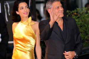 George Clooney on meeting his wife: