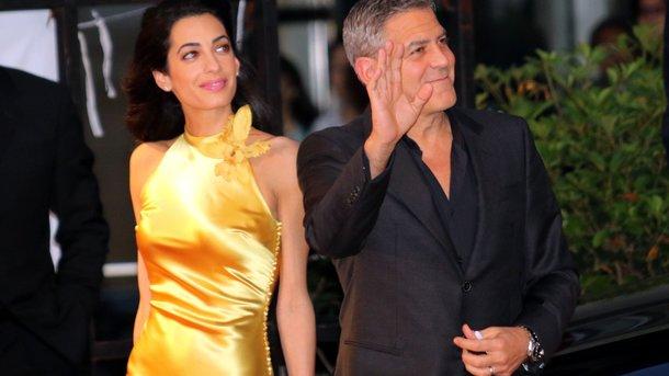 Джордж Клуни поведал, как познакомился с супругой
