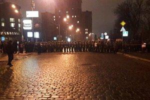 Die Polizei und Barrieren von der Nationalgarde: wie blockiert das Regierungsviertel in Kiew