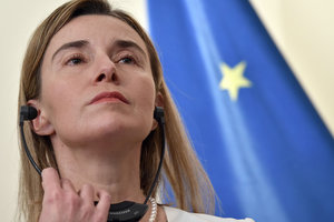 Mogherini have responded to the recognition by the Kremlin of