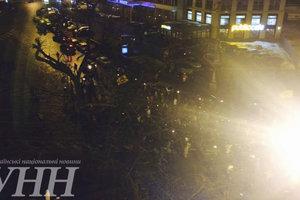В центре Киева факельным маршем чествовали Героев Небесной сотни