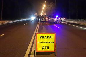 On Obukhov highway u-turn across a double solid over road accident