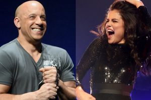 VIN Diesel sang with Selena Gomez