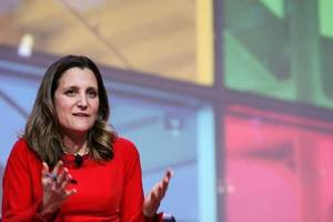 Freeland: Canada is unequivocal in its support of Ukraine