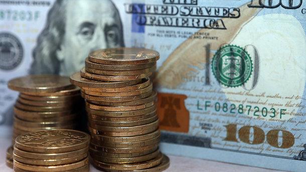 НБУ незначительно опустил курс гривни кдоллару