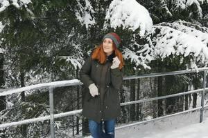 Die Sängerin Marietta Вэйс fiel in die Bärenhöhle zum Bären