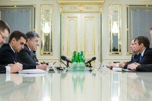 Порошенко провел встречу с представителями США