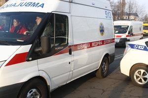 Под Киевом пьяный пассажир с ножом напал на водителя маршрутки