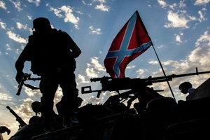 """Военные попали под огонь тяжелой артиллерии и """"грады"""""""