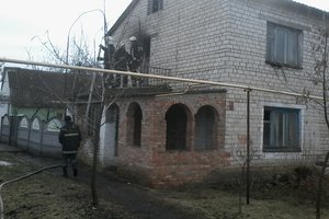 The pensioner died in the fire near Nikolayev