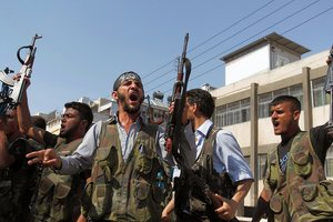 The Syrian opposition took control of the city in the North of the country
