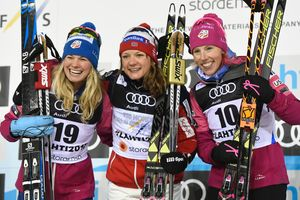 Ukrainka was the seventh top ten in the sprint at the world Championships in ski sports