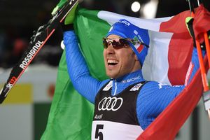 The sprint at the world Championships in Alpine skiing were won by the Italian Pellegrino