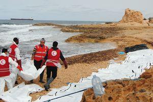 Жуткие кадры: в Ливии шторм выбросил на берег тела более 80 мигрантов (+18)