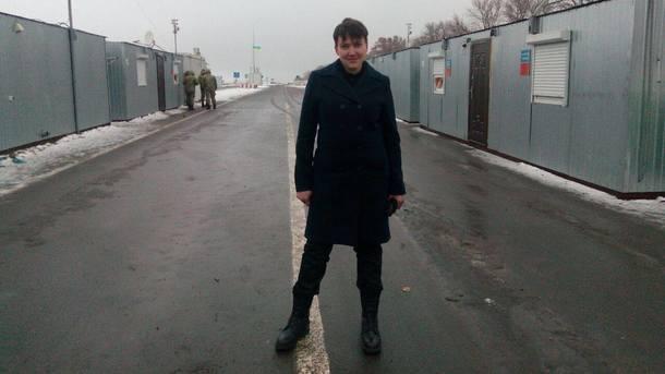 Савченко прибыла вДНР