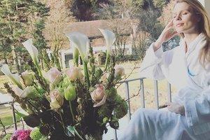 Olga Фреймут confesó que estaba embarazada por tercera vez