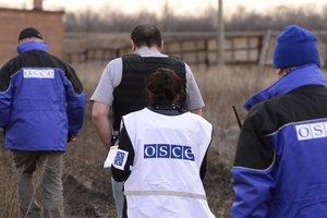 Боевики устроили стрельбу в присутствии наблюдателей ОБСЕ - военные