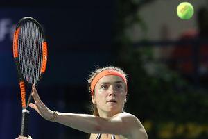 Элина Свитолина выиграла турнир в Дубае