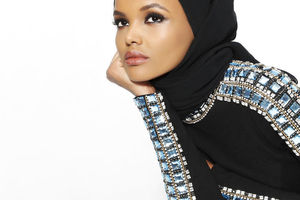 On the catwalk in hijab: a success story of Muslim models Halima Aden