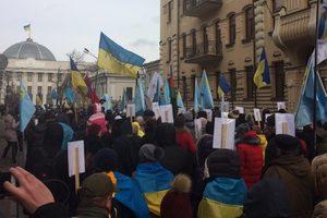 В Киеве проходит Марш солидарности с крымскотатарским народом
