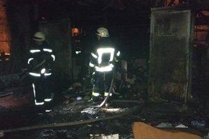 В Киеве пожар унес жизни двух человек