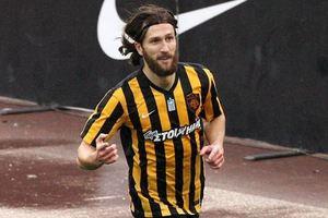 Чигринский забил дебютный гол за греческий АЕК