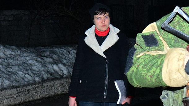 СБУ допросила Савченко поделу отерроризме после визита вДНР