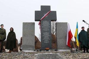 Во Львовской области восстановили памятник погибшим полякам