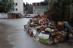The horror and devastation: looks like the resort capital of Crimea