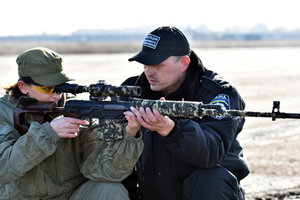Начальник областной полиции Донецка похвастался своими боевыми соратницами
