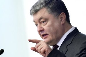 Poroshenko told how the river was buried to the project