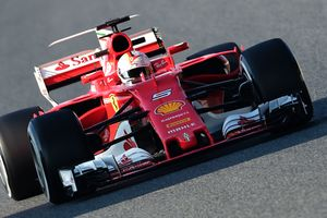 Sebastian Vettel leads first day of testing in Barcelona