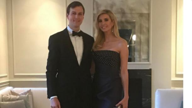 Иванка Трамп с мужем