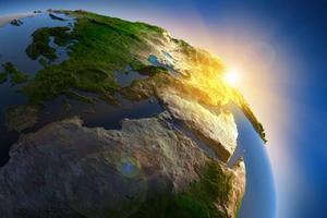 Геологи объяснили, как родились первые континенты Земли