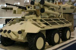 Український бронеавтомобіль визнано однією з найкращих військових новинок року