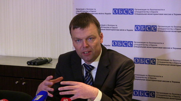 ВОБСЕ сообщили овозможности неменее серьезного обострения ситуации вДонбассе
