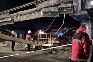 Як їздять тролейбуси в Києві у зв'язку з обвалом Шулявського мосту
