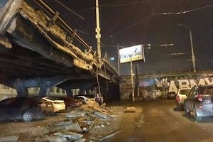 Експерт розповів, чи варто чекати ремонту обваленої Шулявського мосту