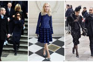 Прощание с легендой: Виктория Бекхэм, Карла Бруни, Рита Ора и Кейт Мосс простились с главредом Vogue Italia